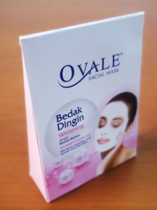 Mini Ovale Facial Packaging